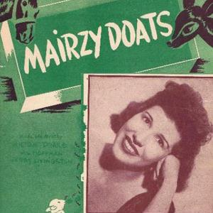 Jerry Livingston Mairzy Doats cover art