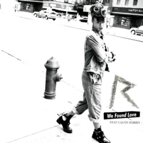 Rihanna We Found Love (feat. Calvin Harris) cover art