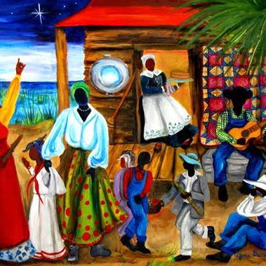 Liberian Folk Song African Noel cover art