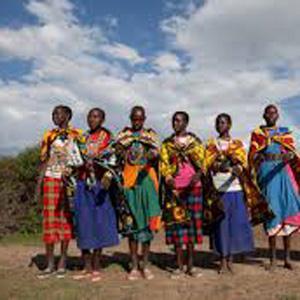 Kenyan Folk Song Ning Wendete cover art