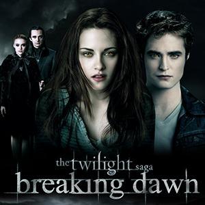 Twilight Breaking Dawn (Movie): Northern Lights cover art