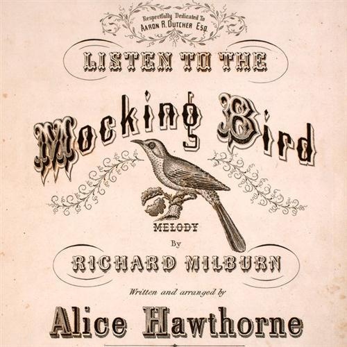Alice Hawthorne Listen To The Mocking Bird cover art