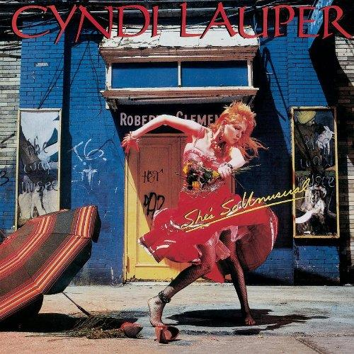 Cyndi Lauper Girls Just Want To Have Fun cover art
