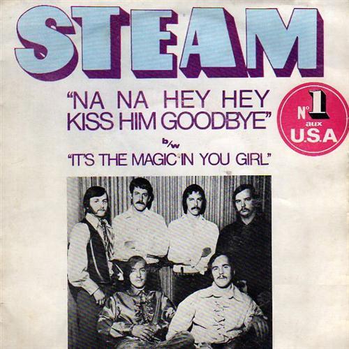 Steam Na Na Hey Hey Kiss Him Goodbye cover art