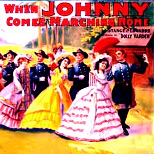 Patrick Sarsfield Gilmore When Johnny Comes Marching Home cover art