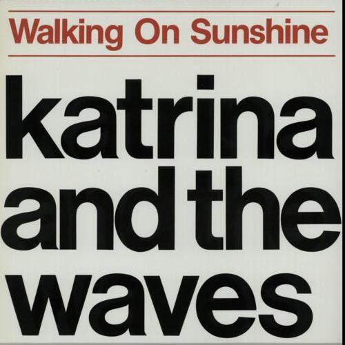 Katrina and the Waves Walking On Sunshine cover art