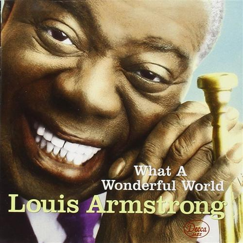 Louis Armstrong What A Wonderful World l'art de couverture