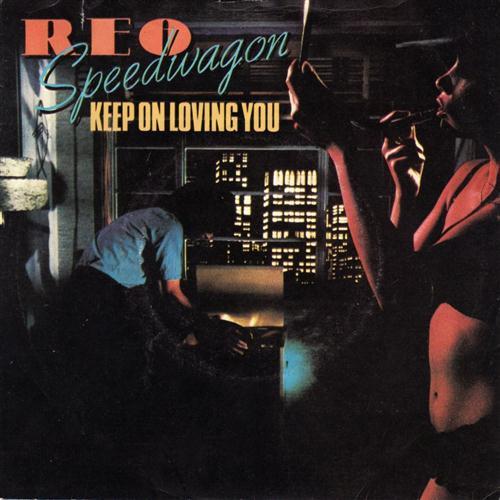REO Speedwagon Keep On Loving You cover art