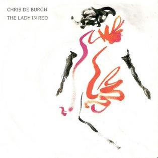 Chris de Burgh Lady In Red cover art