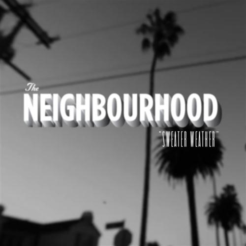 The Neighbourhood Sweater Weather cover art