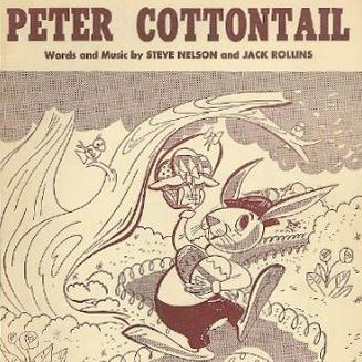Jack Rollins Peter Cottontail cover art