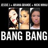 Jessie J, Ariana Grande & Nicki Minaj Bang Bang l'art de couverture