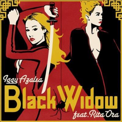 Iggy Azalea Featuring Rita Ora Black Widow cover art