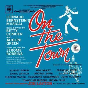 Leonard Bernstein Lonely Town cover art