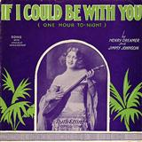 Henry Creamer If I Could Be With You (One Hour Tonight) arte de la cubierta