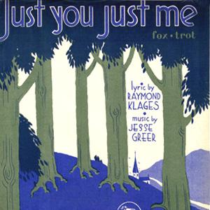 Raymond Klages Just You, Just Me cover art