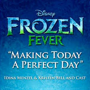 Idina Menzel Making Today A Perfect Day cover art