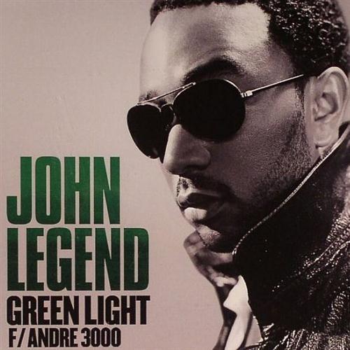 John Legend featuring Andre 3000 Green Light cover art