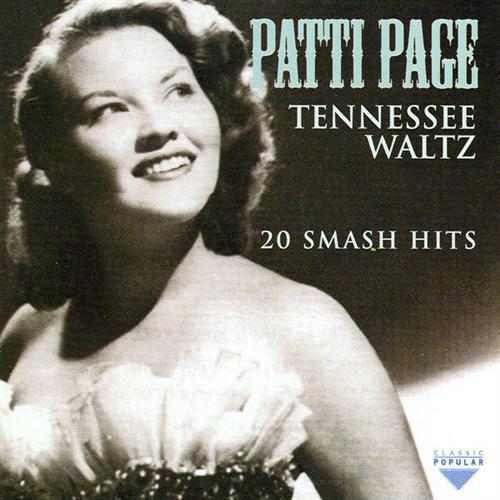 Patty Page Tennessee Waltz l'art de couverture