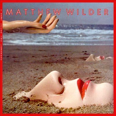 Matthew Wilder Break My Stride cover art