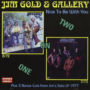 Jim Gold Nice To Be With You cover art