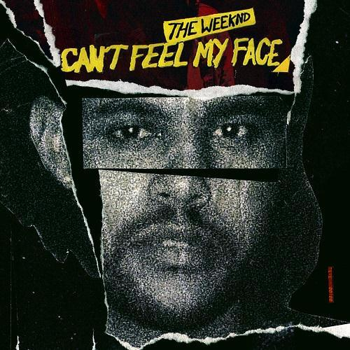 The Weeknd Can't Feel My Face cover art