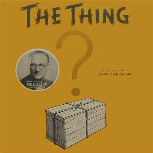 Charles R. Grean The Thing cover art