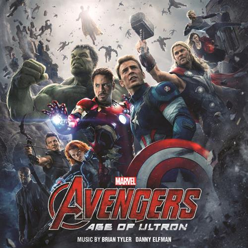 Danny Elfman Heroes (from The Avengers: Age of Ultron) cover art