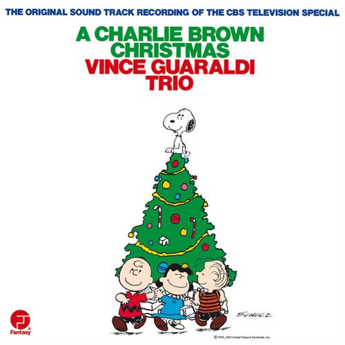 Vince Guaraldi Trio O Tannenbaum cover art