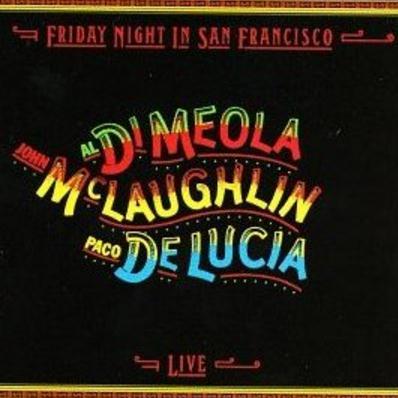 John McLaughlin, Al Di Meola, Paco De Lucia Guardian Angel cover art