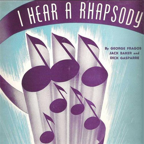 Dick Gasparre I Hear A Rhapsody cover art