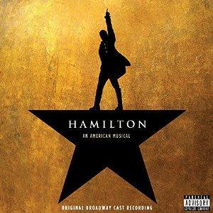 Lin-Manuel Miranda Hurricane (from Hamilton) cover art