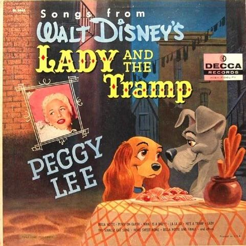 Peggy Lee & Sonny Burke He's A Tramp cover art