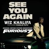 Wiz Khalifa See You Again (feat. Charlie Puth) l'art de couverture