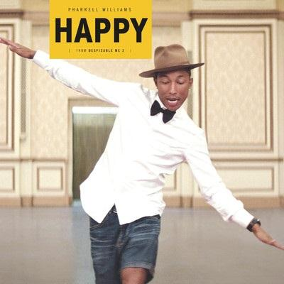 Pharrell Happy cover art