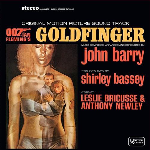 John Barry Goldfinger cover art