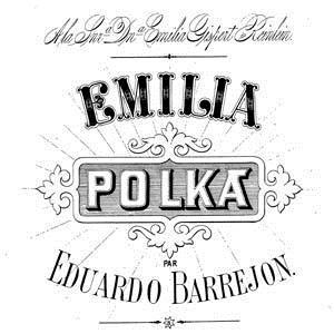 Oliver Ditson & Eduardo Barrejon Emilia Polka cover art