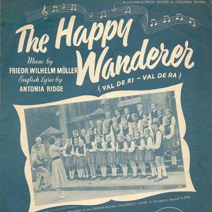 Friedrich W. Moller The Happy Wanderer (Val-De-Ri, Val-De-Ra) cover art