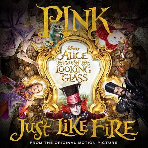 Pink Just Like Fire cover art