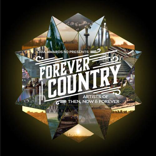 Artists of Then, Now & Forever Forever Country cover art