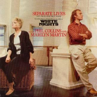 Phil Collins & Marilyn Martin Separate Lives cover art