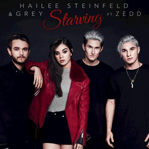 Hailee Steinfeld & Grey Feat. Zedd Starving (Until I Tasted You) cover art