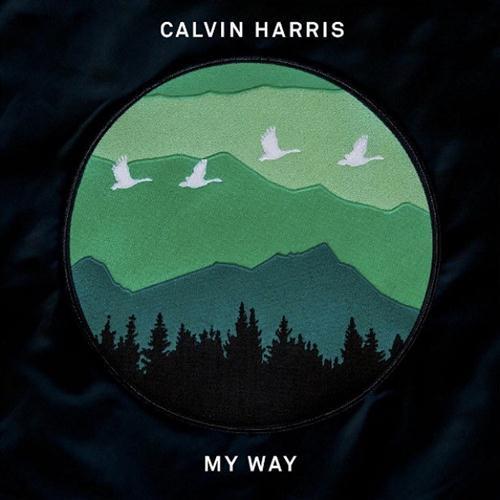 Calvin Harris My Way cover art