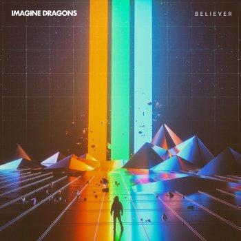 Imagine Dragons Believer cover art