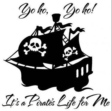 Xavier Atencio Yo Ho (A Pirate's Life For Me) cover art