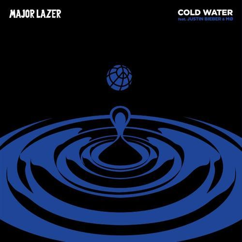 Major Lazer feat. Justin Bieber and MO Cold Water cover art