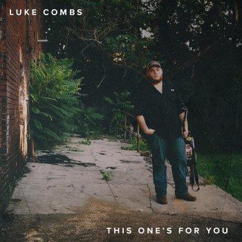 Luke Combs Hurricane cover art