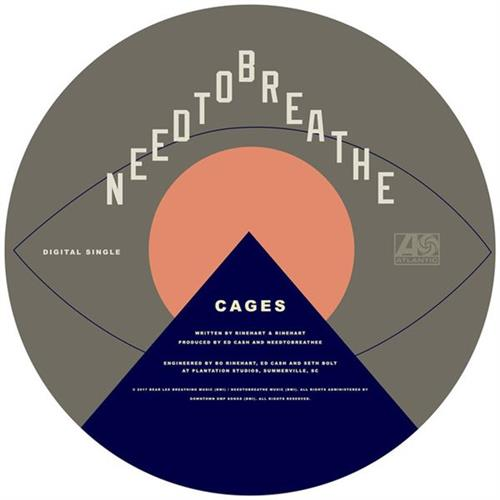 NEEDTOBREATHE Cages cover art