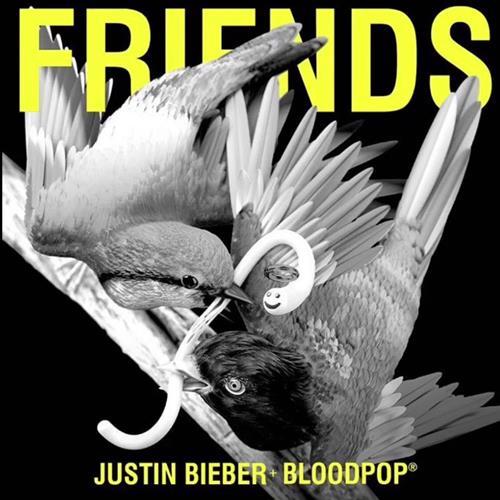 Justin Bieber Friends (feat. BloodPop) cover art