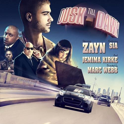 ZAYN Dusk Till Dawn (feat. Sia) cover art